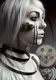 _The human and the machine. on Behance
