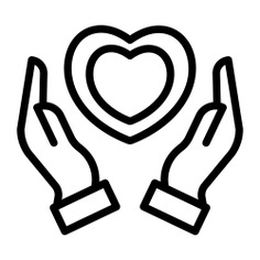 See more icon inspiration related to wellness, medical insurance, healthcare and medical, hands and gestures, heart rate, cardiogram, electrocardiogram, insurance, pulse, hands, heart and medical on Flaticon.