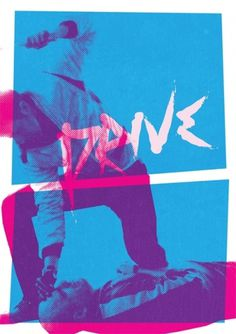 NOT TOO BAD - Kavinsky + Quick break from uni work = This If... #movie #screenprint #abbas #illustration #drive #mushtaq #poster