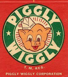 Piggly Wiggly vintage ad #piggy