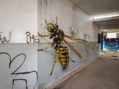 Mind Blowing Street Art by Odeith Mind Blowing Street Art by Odeith