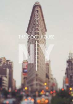 The Cool Hunter Welcome #graphic design #typography #new york #photography