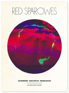FFFFOUND! #circle #color #mountains #poster