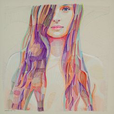Lui Ferreyra | PICDIT #design #art #painting #portrait