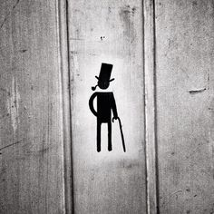 Piss like a goddamn gentleman - David Walby: http://off-the-wall-b.tumblr.com/ #logo #toilet #gentleman #pipe