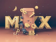 Lemon Sky – AR infographic #inspiration #infographic #3d #typography