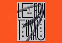 Le bon tuyau by Benoit Hody #typography #poster #graphicdesign #artdirection
