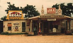 File:A cross roads store, bar, juke joint, and gas station in Melrose, Louisiana, 1944.jpg