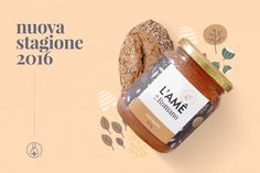 L'Ame Honey — Brand Identity & Packaging