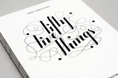 Fifty Five Things. by Design made in Germany #handcrafted #lettering #design #graphic #quality #technical #typography