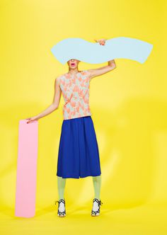 Pop Rocks, with Erin D. Garcia on Behance #fashion #graphic
