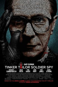 Movie review: 'Tinker Tailor Soldier Spy' (2011) | Joel Talks Movies #poster #movie #soldier #tailor #spy #tinker #cold war