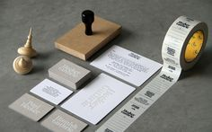 Cornwell: New website / Collate #identity #stationary