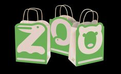 Zoo Identity Irina Blok #collateral #zoo #bags #animals