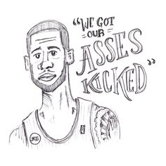 #illustration #handtype #handlettering #design #typography #type #blazers #fan #portland #LMA #lamarcus