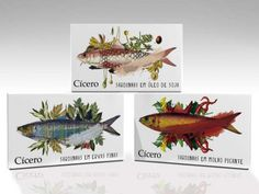 Cicero Sardines #packaging #illustration #fish