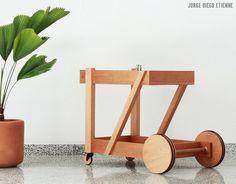 Service trolley #furniture #design