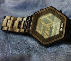 3D Unlimited LCD Watch #watch