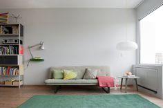 Apartment in Amsterdam by Roel Huisman #modern #design #minimalism #minimal #leibal #minimalist
