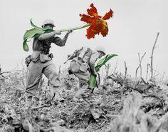 Make Art Not War by Mr. Blick   iGNANT.de #sgs