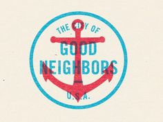 visualgraphic: The City of Good Neighbors #logo