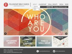 Fellowship Bible Church FE #layout #color #web