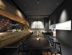 RAW Restaurant in Taipei - #decor, #interior, #restaurant,