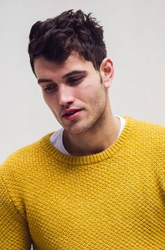 Paul Kerr by Jamille Rene Graves #model #yellow #fashion