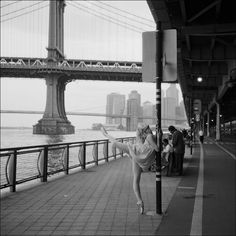 Ballerina Project #ballerina #ballet #manhattan #york #bridge #new