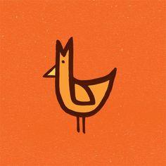 The Birds & The Birds #line #bird #birds #illustration #colour