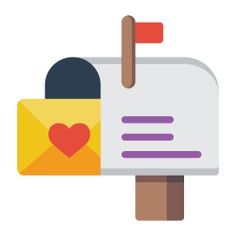 See more icon inspiration related to mailbox, mail, Tools and utensils, mailboxes, mails, communications, interface, symbol, tools and tool on Flaticon.