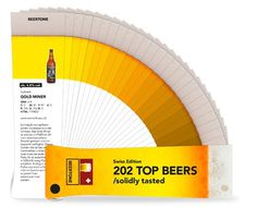 Beertone Chart #beer #color #pantone