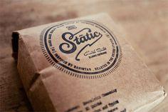 SK_StaticCoffee_05 #packaging #branding #typography