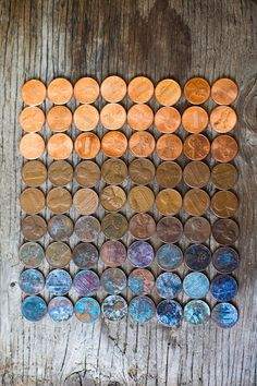 "Image Spark Image tagged ""penny"", ""pennies"", ""color"" sistergirl #money #colour #coins #blend"