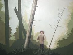 by Artur. Grucela #forest #illustration #picture