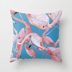Flamingo Pattern by Maria Umiewska