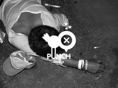 Bruno Tatsumi / Punch Audio #logo #identity #punch #branding