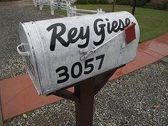 FFFFOUND! | Rey Giese on Flickr - Photo Sharing! #mailbox #typography