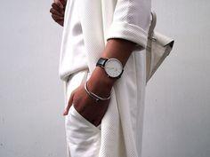 (1) Likes | Tumblr #fashion #white #watch