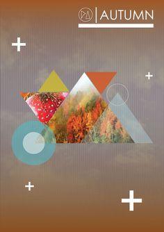 AUTUMN | POSTER #pi #design #autumn #poster #piedade