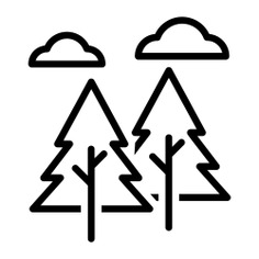 See more icon inspiration related to forest, trees, landscape, nature, woods and pines on Flaticon.
