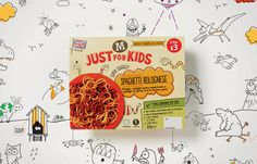 Justforkids #packaging #box #food #kids