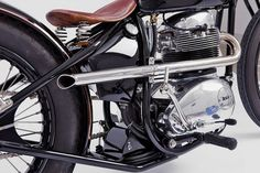 tumblr_lm35rrpNul1qau50i.jpg (500×334) #seat #pipe #bike #vintage #spring #motorcycle