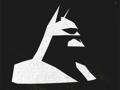 Dribbble - Batman Head by Sven Kalkschmidt #illustration #vector #batman