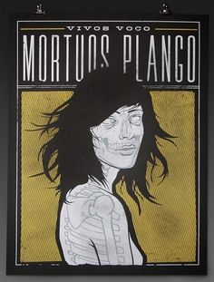 Vivos Voco Mortuos Plango « RONLEWHORN #skeleton #woman #girl #nude #print #design #screen #illustration #poster #death