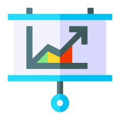 See more icon inspiration related to board, business and finance, bar chart, whiteboard, line graph, growth, comparative, stats, benefits, report, presentation, statistics, diagram, graphic and arrow on Flaticon.