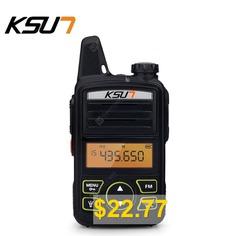 KSUN #KSX30-ML #Portable #Radio #Set #ini #Walkie #Talkie #UHF #Handheld #Two #Way #Ham #Radio #HF #Transceiver