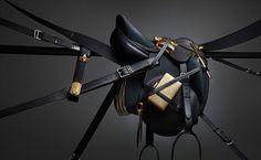 GOLDRUSH I on the Behance Network #black #leather #apparel