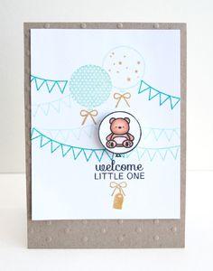 mama elephant | design blog #design #stamps #bears #blog #cards