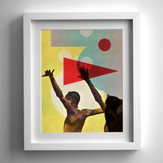 Jimmy Turrell #exhibition #collage #print #art